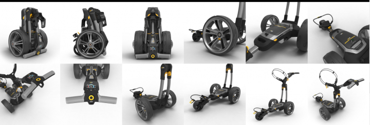 Chariot électrique CT6 Powacaddy 12W