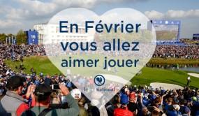 Offre Février 2019 - Hôtel + Golf