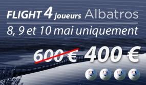 1 Ligne de 4 GF Albatros - Spécial 08,09,10 mai