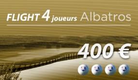 1 Ligne de 4 GF Albatros 7/7