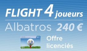 1 Ligne de 4 GF Albatros offre licenciés