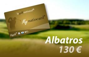 Carte Fidelity Albatros 130€