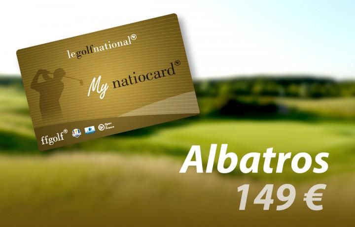 Carte Fidelity Albatros 149€